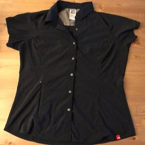 North face button up shirt